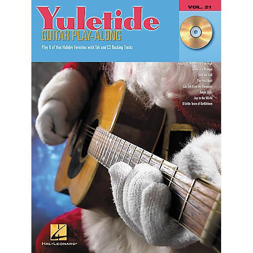 Hal Leonard Yuletide Guitar Play-Along Guitar Tab Book