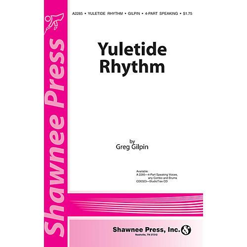 Shawnee Press Yuletide Rhythm Studio Trax CD Studiotrax CD Composed by Greg Gilpin-thumbnail