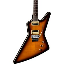 Z 79 Floyd Flame Top Electric Guitar Transparent Brazilia