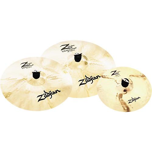 Zildjian Z Custom Crash Pack with FREE 12