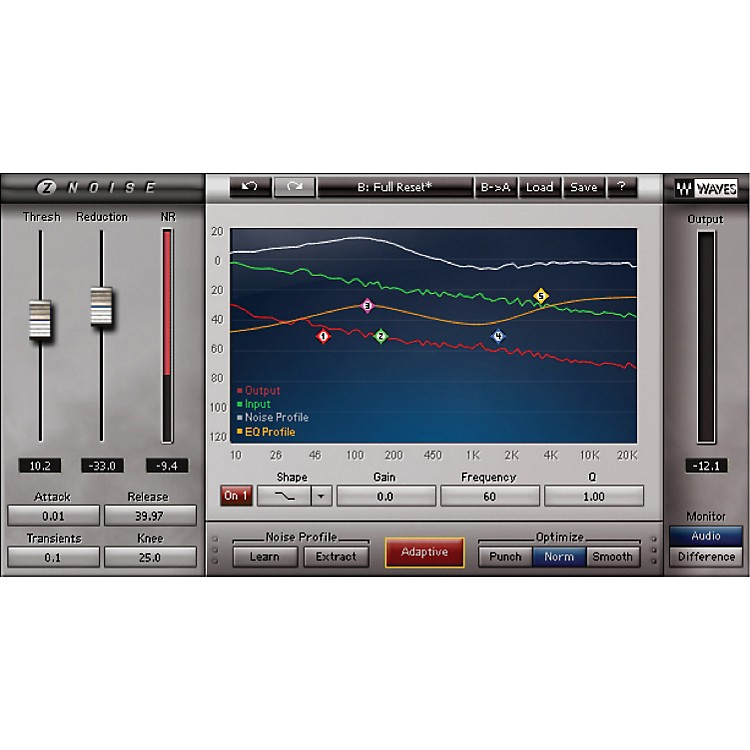 Waves Z Noise Native License Software  Download