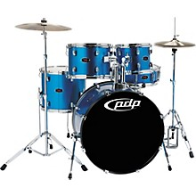 PDP by DW Z5 5-Piece Drum Set Aqua Blue