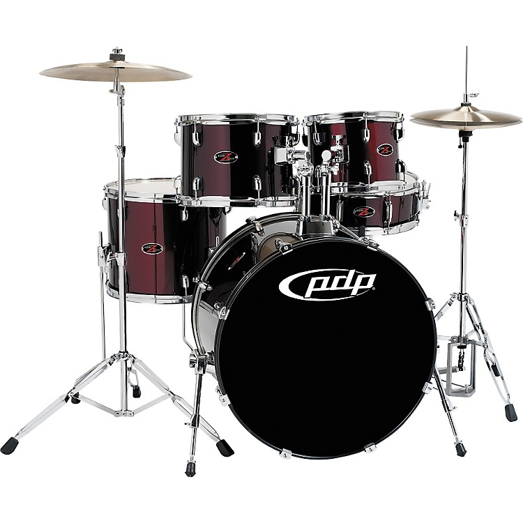 PDP Z5 5-Piece Drum Set Black Cherry