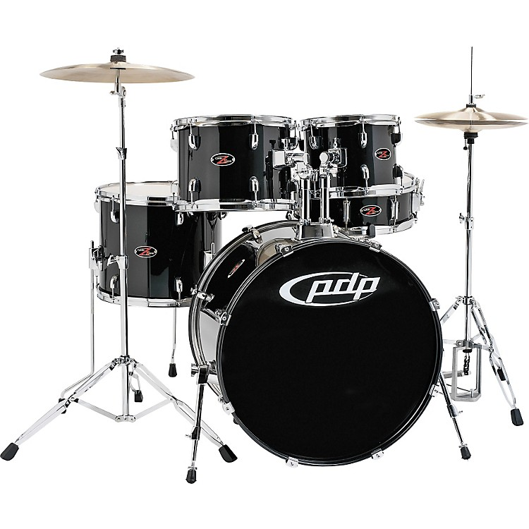 PDP Z5 5-Piece Drum Set Carbon Black