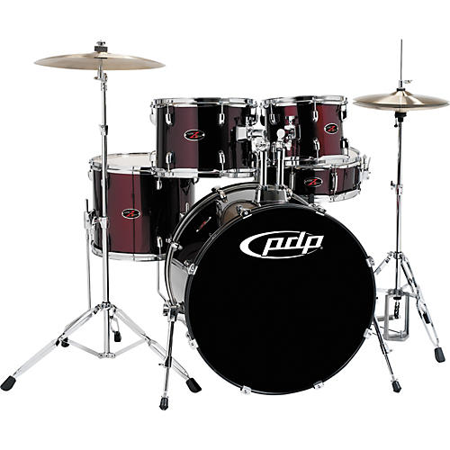 PDP by DW Z5 5-Piece Drum Set with Cymbals-thumbnail