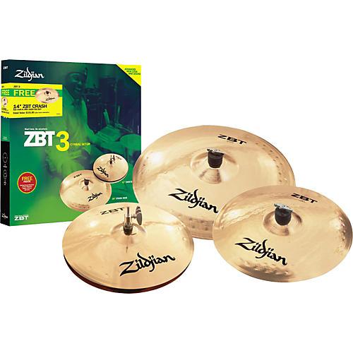 Zildjian ZBT 3 2008 Cymbal Pack