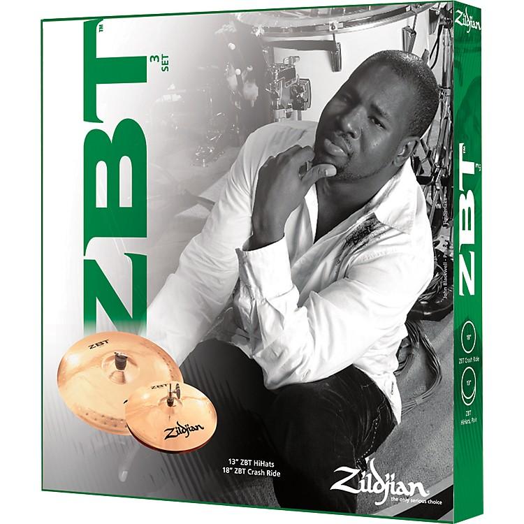ZildjianZBT 3-Piece Starter Cymbal Set