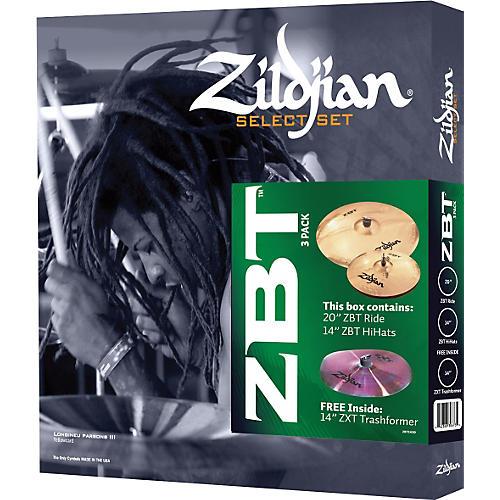 Zildjian ZBT 3 Select Cymbal Pack