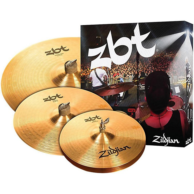 ZildjianZBT 3 Starter Bonus Cymbal Pack with Free 14