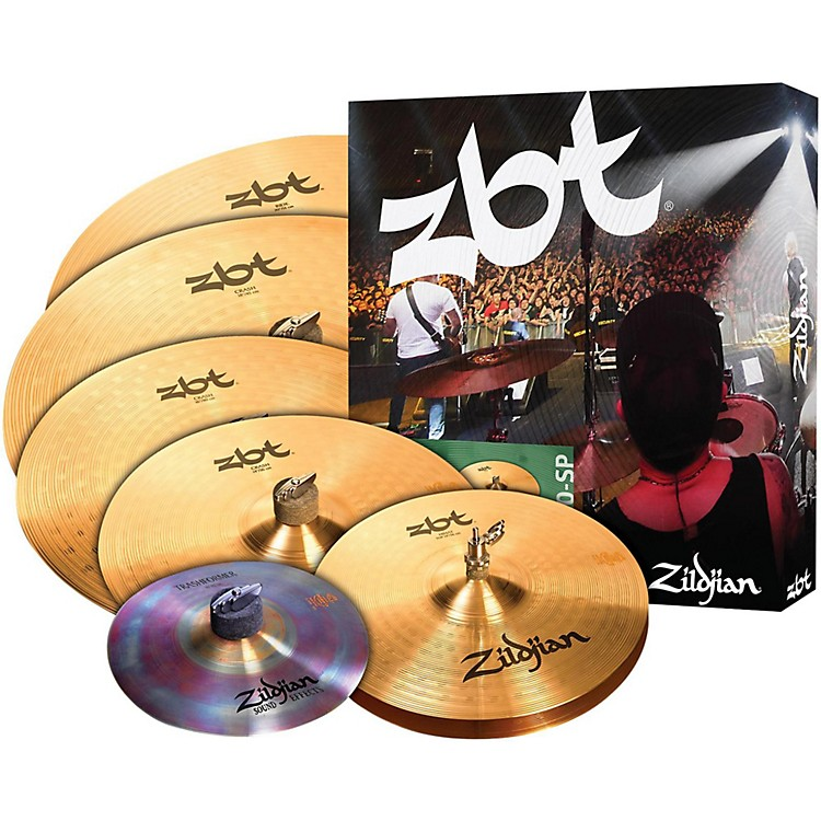 Zildjian ZBT 390 Series Super Cymbal Pack