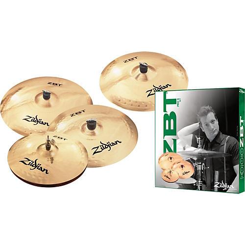 Zildjian ZBT 4 Pro Cymbal Pack with Free 18