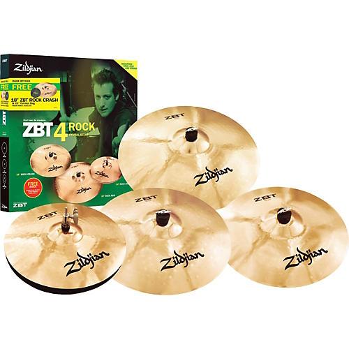 Zildjian ZBT 4 Rock 2008 Cymbal Pack