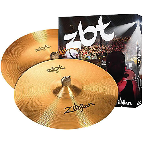 Zildjian ZBT China Crash Cymbal Pack