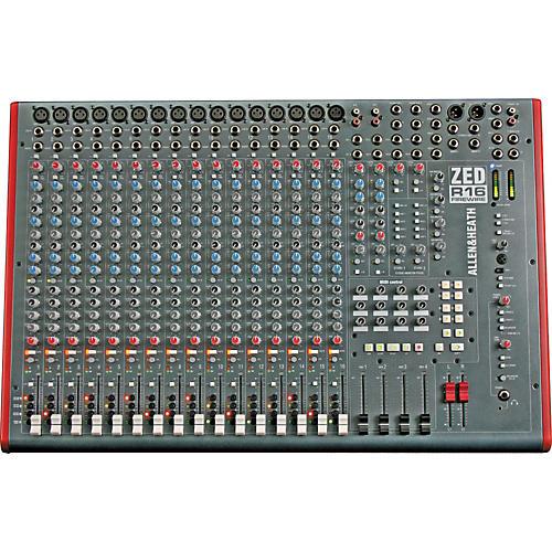 Allen & Heath ZED-R16 16-Channel FireWire Mixer-thumbnail