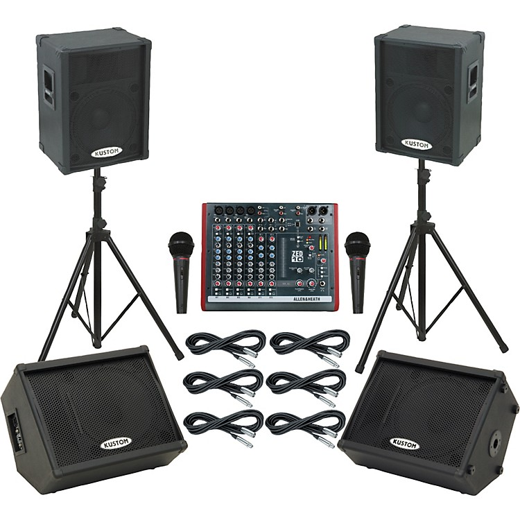 Allen & Heath ZED10 / KPC15P Mains & Monitors Package
