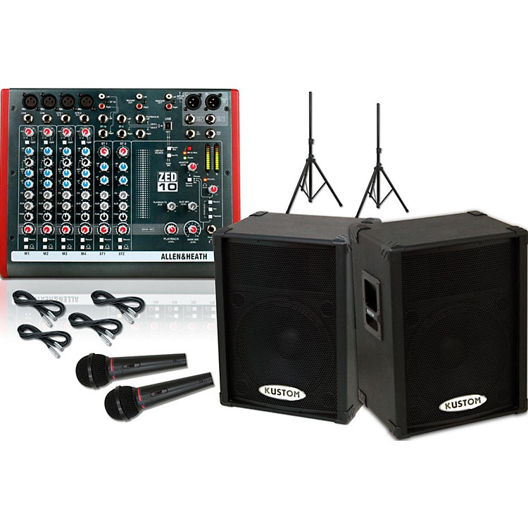 Allen & Heath ZED10 / KPC15P PA Package