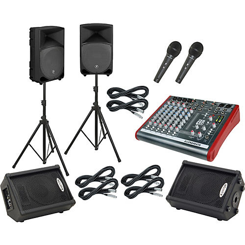 Allen & Heath ZED10 / Thump TH-12A Mains and Monitors Package-thumbnail