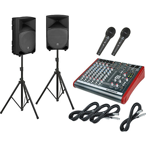 Allen & Heath ZED10 / Thump TH-12A PA Package