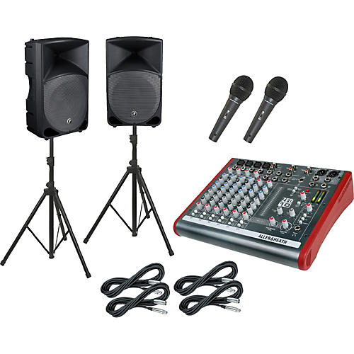 Allen & Heath ZED10 / Thump TH-15A PA Package