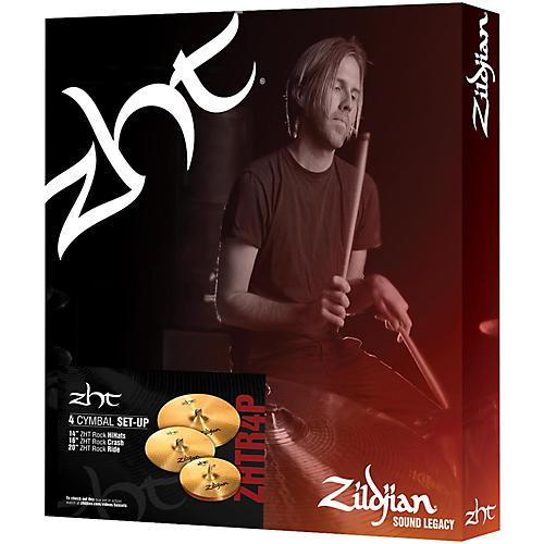 Zildjian ZHT Rock 4 Cymbal Pack