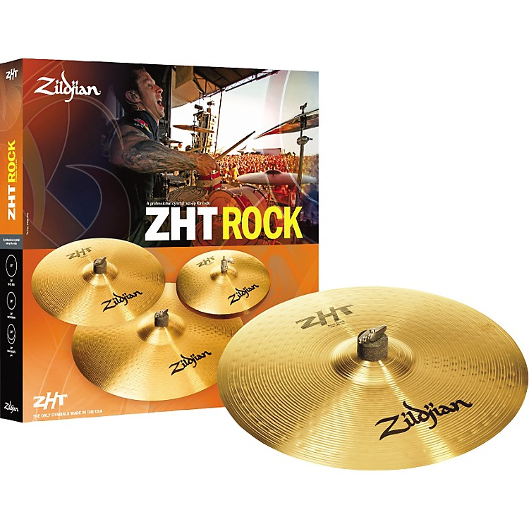 Zildjian ZHT Rock Cymbal 4-Pack With Free 18