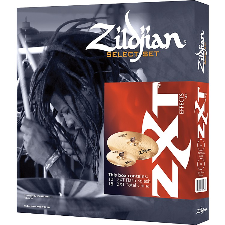 ZildjianZXT 2-Piece Effects Cymbal Box Set