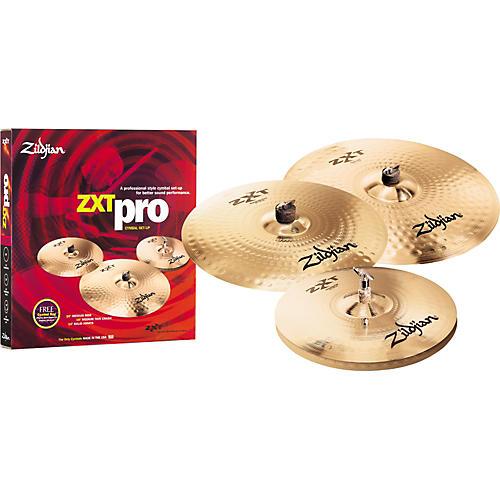 Zildjian ZXT Pro 4-Pack with Free 18