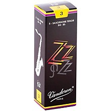 Vandoren ZZ Tenor Saxophone Reeds Strength - 3, Box of 5