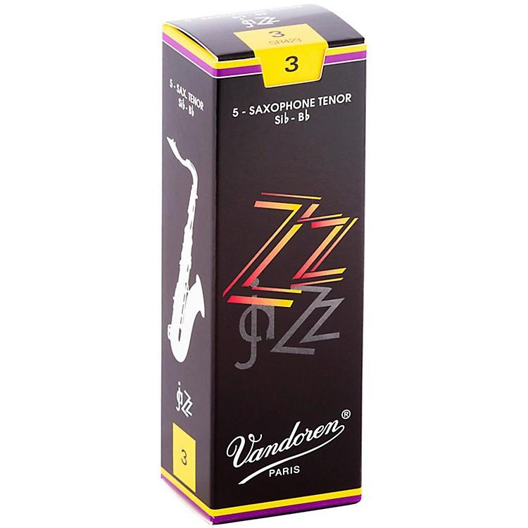VandorenZZ Tenor Saxophone ReedsStrength - 3, Box of 5