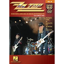 Hal Leonard ZZ Top - Guitar Play-Along DVD Volume 38