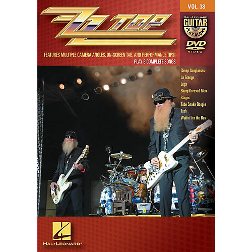 Hal Leonard ZZ Top - Guitar Play-Along DVD Volume 38