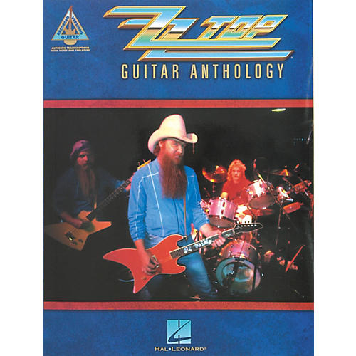 Hal Leonard ZZ Top Anthology Guitar Tab Songbook