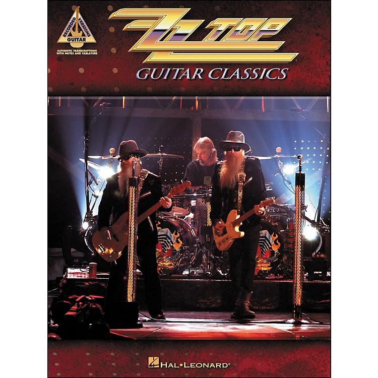 Hal LeonardZZ Top Guitar Classics Tab Book
