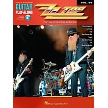 Hal Leonard ZZ Top Guitar Play-Along Volume 99 Book/CD