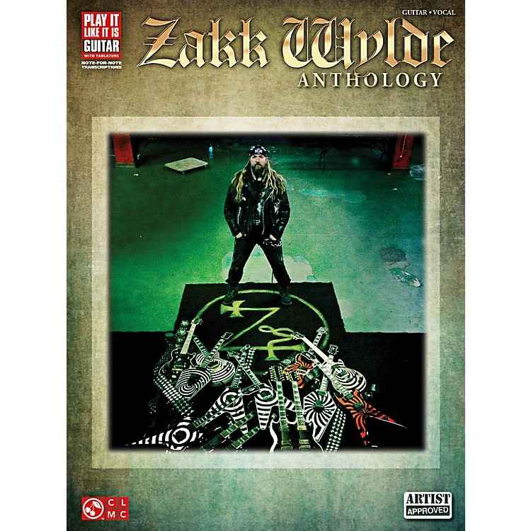 Cherry Lane Zakk Wylde Anthology Guitar Tab Songbook
