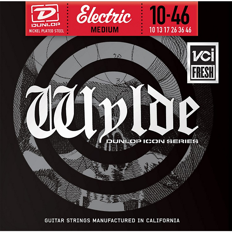 Dunlop Zakk Wylde Icon Series Medium Electric Guitar Strings
