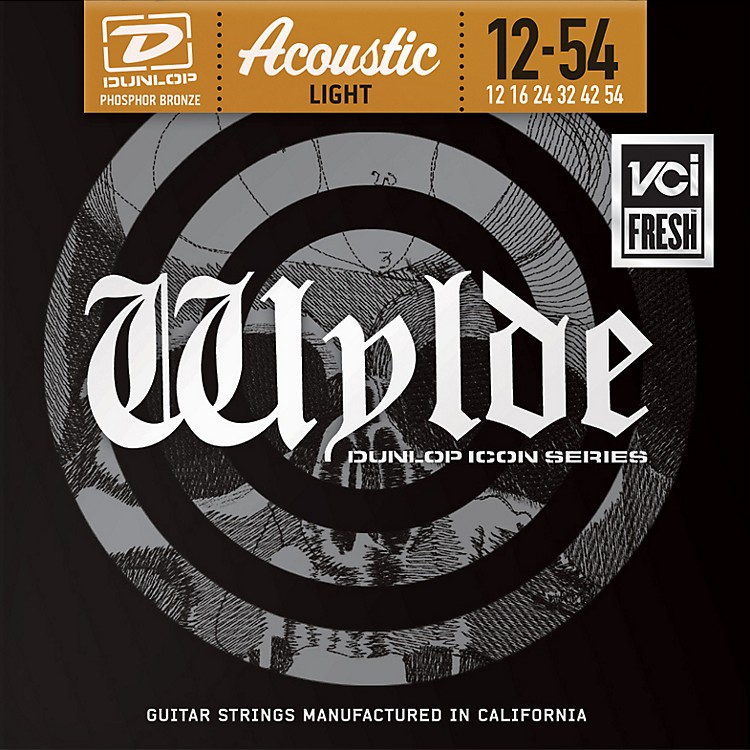 Dunlop Zakk Wylde Icon Series Phosphor Bronze Light Acoustic Guitar Strings