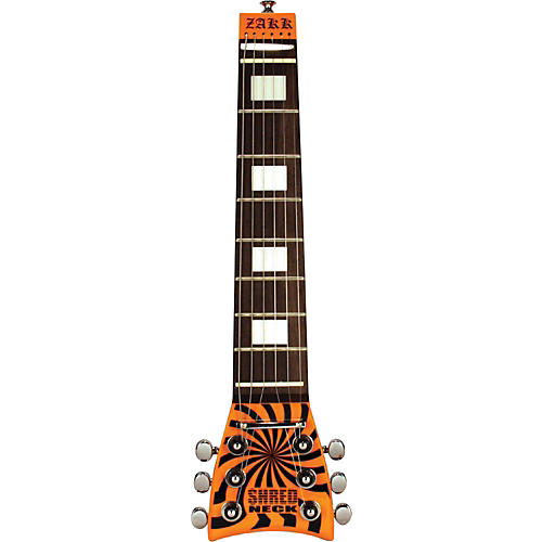Shredneck Zakk Wylde Signature Practice Guitar Neck White and Black Bull's Eye
