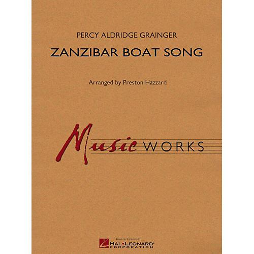 Hal Leonard Zanzibar Boat Song Concert Band Level 4