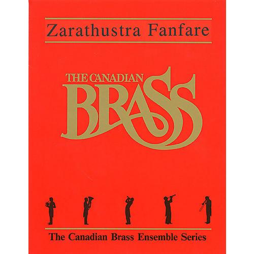 Hal Leonard Zarathustra Fanfare (Score and Parts) Brass Ensemble Series by Richard Strauss-thumbnail