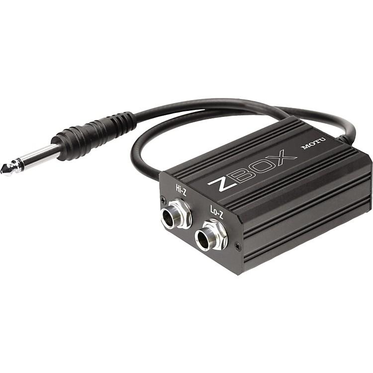 MOTUZbox Guitar Impedence Adapter