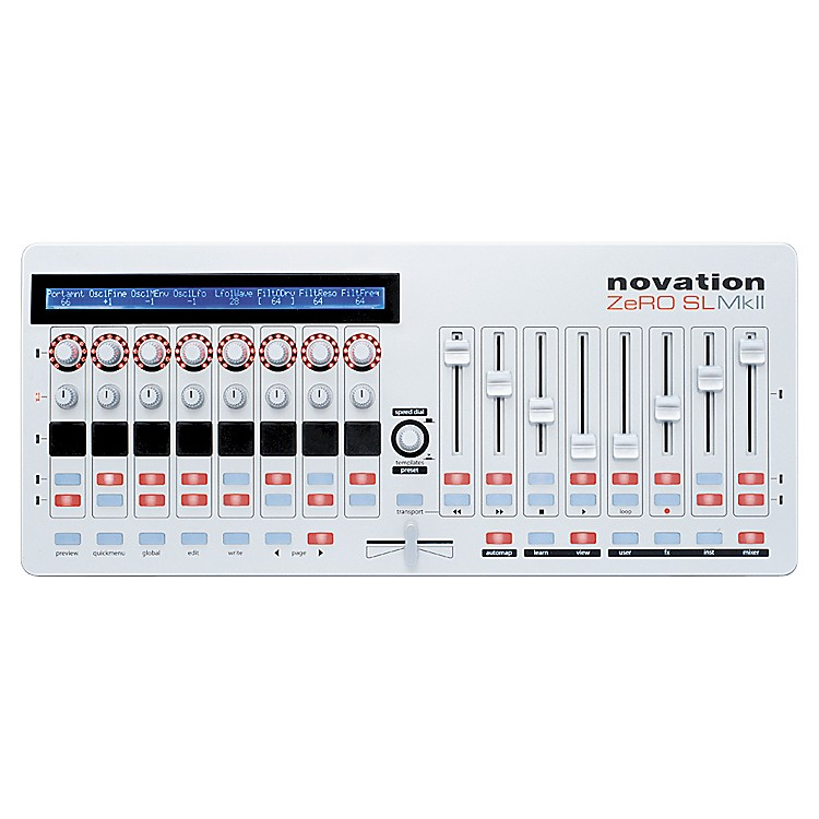 novation zero sl mkii keyboard controller musician 39 s friend. Black Bedroom Furniture Sets. Home Design Ideas