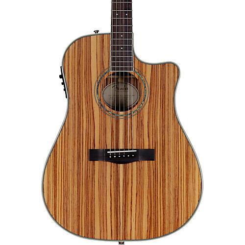 Fender Zebrano Acoustic-Electric Guitar