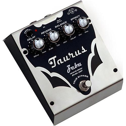 Taurus Zebu Silver Line Reverb + Delay Effects Pedal