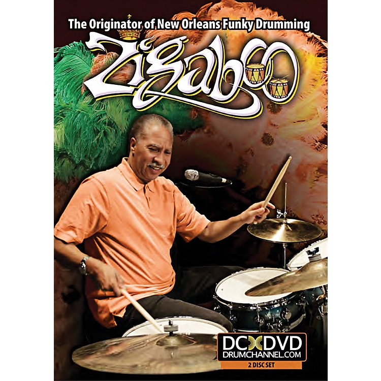 The Drum ChannelZigaboo Modeliste The Originator of New Orleans Funky Drumming DVD