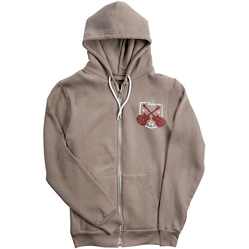 Taylor Zip-Front Hoody Pewter-thumbnail