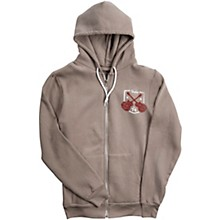 Taylor Zip-Front Hoody Pewter Small
