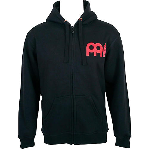 Meinl Zipper Hoodie with Skull Logo on Back-thumbnail