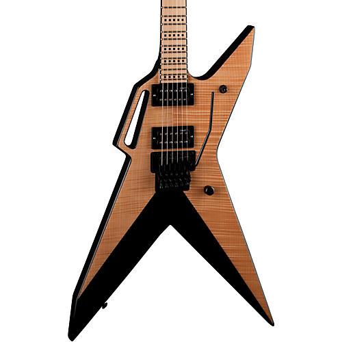 Dean Zoltan AR6 Flame Top Electric Guitar Gloss Natural