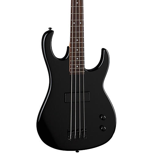 Dean Zone 4-String Bass Guitar Metallic Black